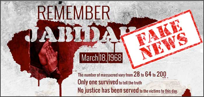 Jabidah 'massacre' was the Yellows' first big fake news