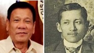 Oops, Duterte's critics are portraying him as the new Rizal