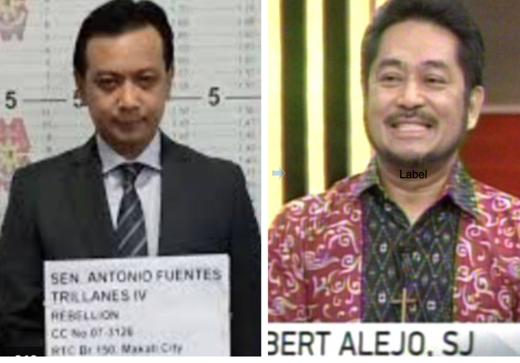 ICC filer' denounces his clients. (PNP, ANC screen grab)